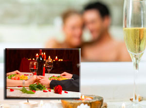 PRIVAT access to Spa and Romantic Dinner for two oferta kunu