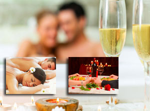 Couples Massage, PRIVATE Spa and Romantic Dinner for two oferta kunu